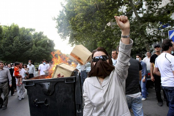 Protests on Iran on 9 July 2009