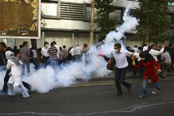 Protests in Iran on 9 July 2009