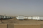 Camp Liberty, Iraq, which houses members of the MEK