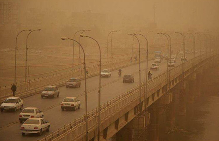 Iran- Drought and Sandstorms Crisis