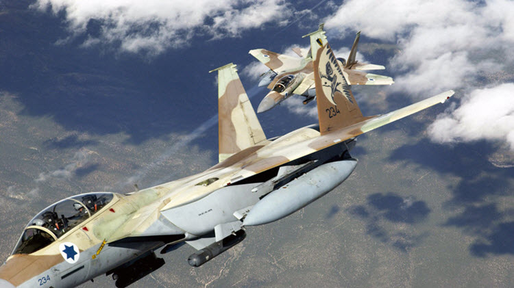Israel attacked 50 IRGC positions in Syria