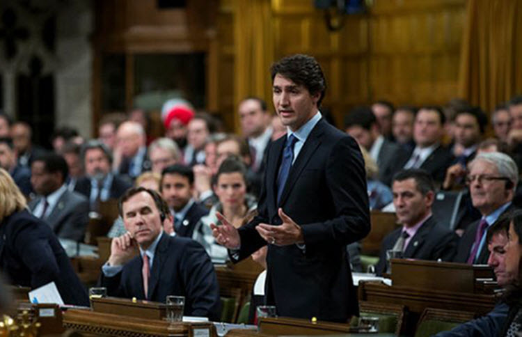Prime-Minister-Justin-Trudeau-House-of-Commons-Parliament