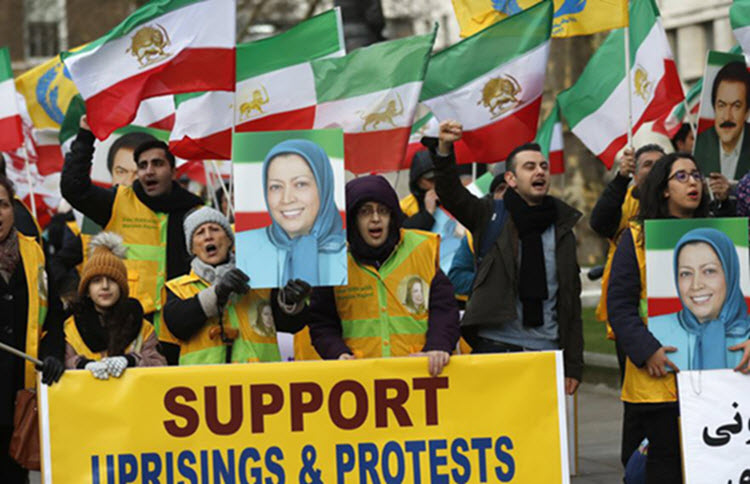MEK role in protests