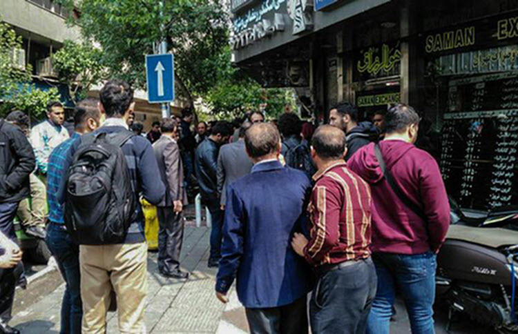 Tensions flare in Tehran over the economy