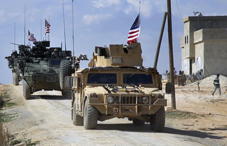 The United States works on strategy to remove Iran from Syria