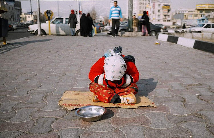 Poverty Crisis In Iran