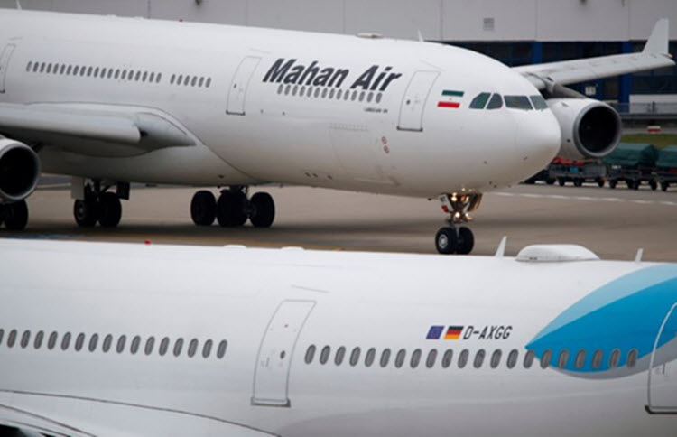 Germany Bans Iran's Mahan Air