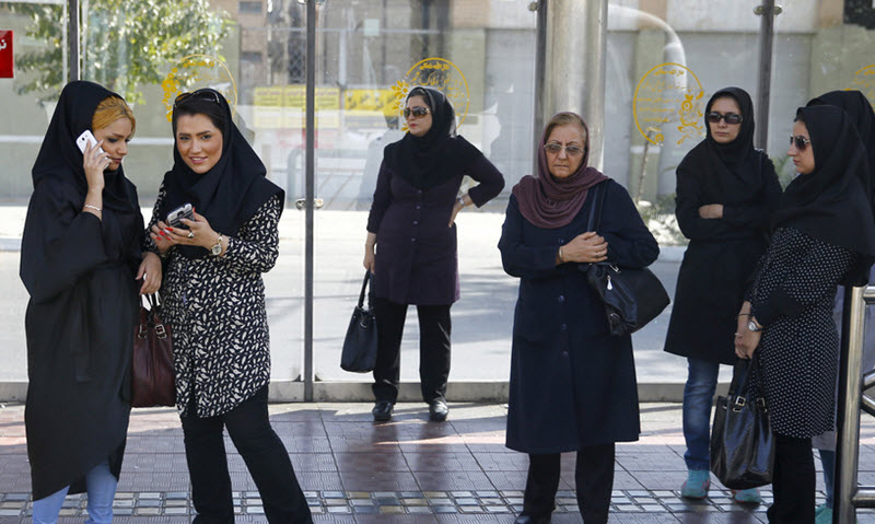 Iran's Biggest Threat? Women Removing the Forced Hijab