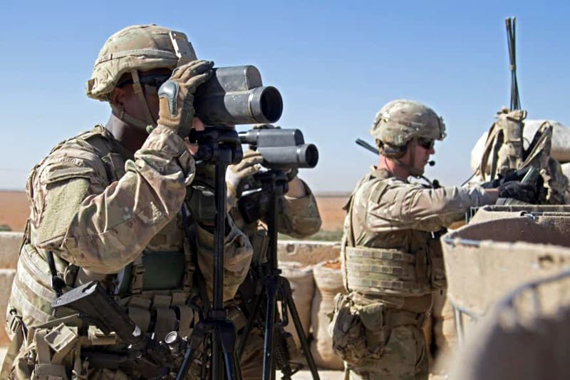 US Proposes Leaving Troops at Iraq Border in Syria to Safeguard Against Iran Interventionism