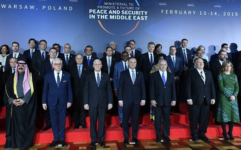 Iran Should Be Frightened of the Warsaw Conference