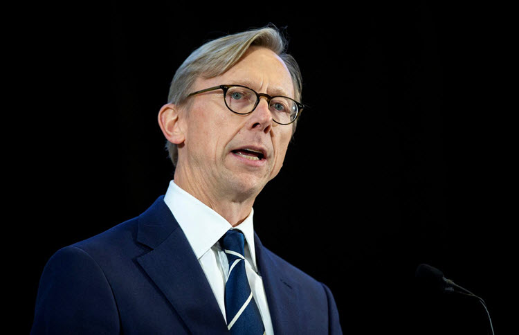 Brian Hook, the special US envoy for Iran