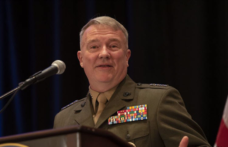 United States Central Command Chief General Kenneth McKenzie