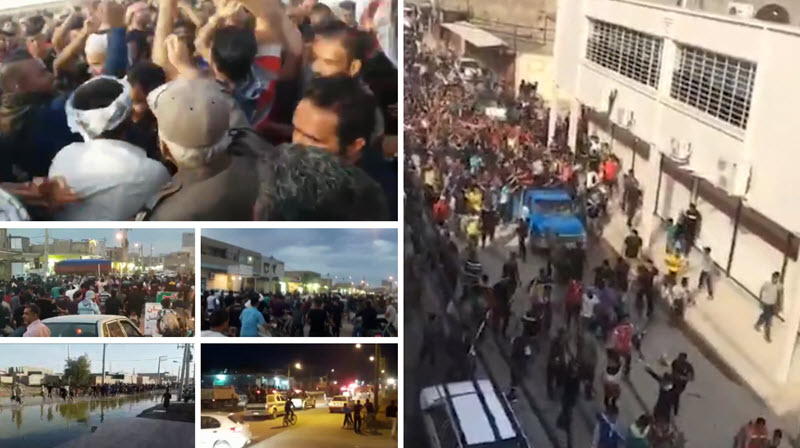 Iran: Protests by Flood Stricken Furious People