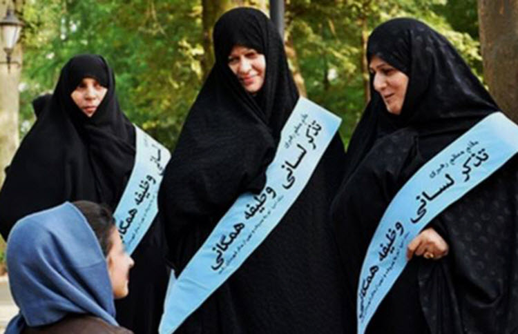 """A 2,000 strong Basij group has been launched in the northern Iranian province of Gilan to counter what Iran calls """"improper hijab"""""""