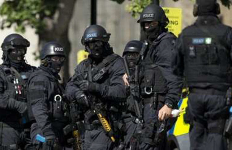 The British security services