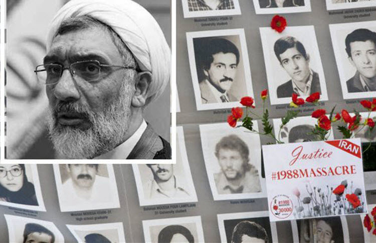 Iran's former justice minister has defended the 1988 massacre of 30,000 political prisoners in the media recently.