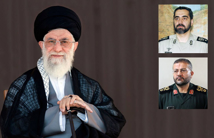 On Tuesday, July 2, in a state order, Iran's Supreme Leader, Ali Khamenei, changed the commander of the Basij Militia and the deputy chief of staff of the armed forces.