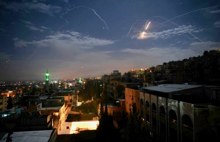Israel claims responsibility for airstrikes near Damascus, saying it foiled 'large-scale attack' by Iran
