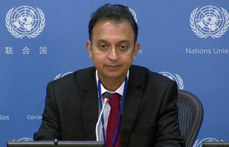 Javaid Rehman, the UN Special Rapporteur on human rights in Iran