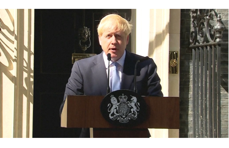Prime Minister Boris Johnson says that Iran is responsible for an attack against the facilities of Saudi oil giant Aramco