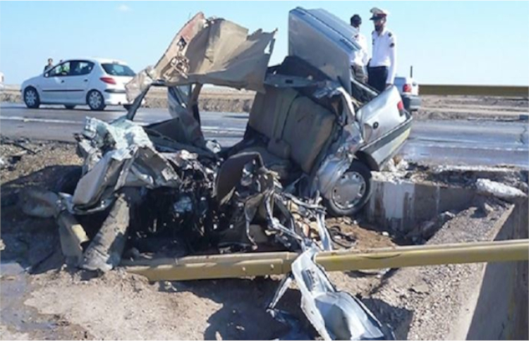 Among the most deadly crises inside Iran are car accidents which constitute a major parameter of death in Iran
