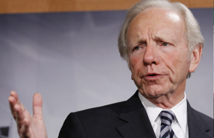"Joseph I. Lieberman, the former Democratic nominee for vice president has said that the 2020 Democrats should be supporting Donald Trump's ""maximum pressure"" strategy on Iran"