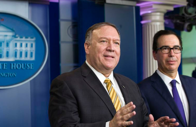 Mike Pompeo accused Iran of not cooperating fully with the International Atomic Energy Agency