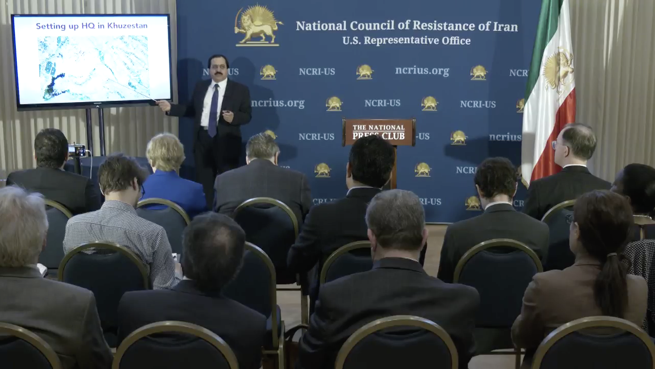 Press Conference by the National Council of Resistance of Iran (US Office) revealing the details of the Iranian regime's attack on Saudi Oil Installations- Washington D.C.- September 30, 2019