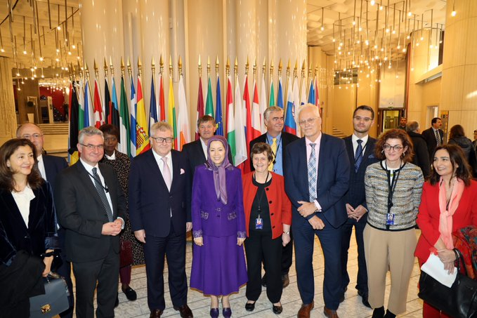 Conference at the Parliament of Europe – Strasburg: European policy vis-à-vis Iranian regime's suppression and warmongering, massacre of political prisoners in 1988 - October 23, 2019