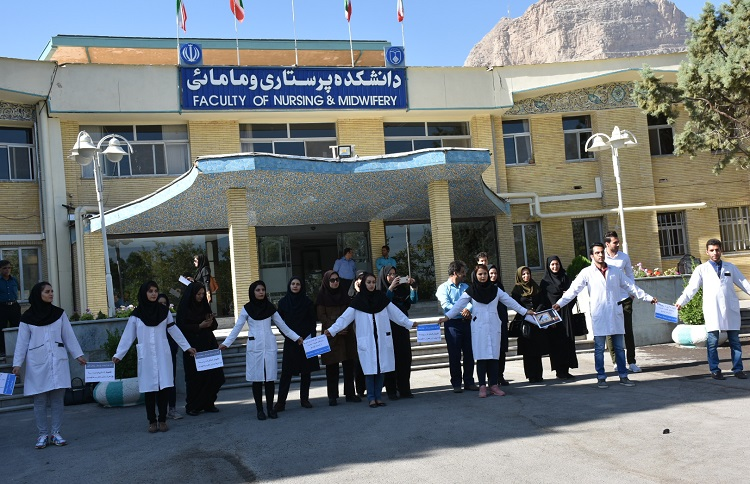Many female nurses in Iran are not permanently employed, only given temporary contracts. This means that they are more liable to be fired without warning or reason