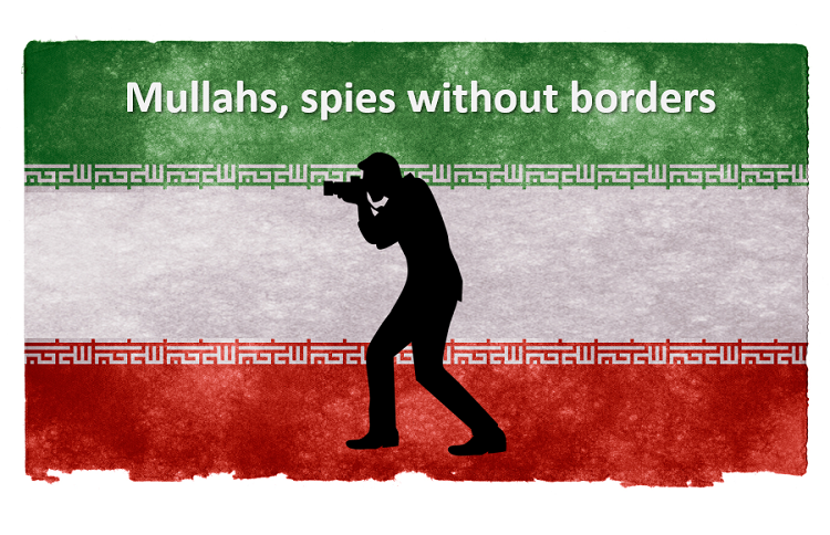 Mullahs spies without borders