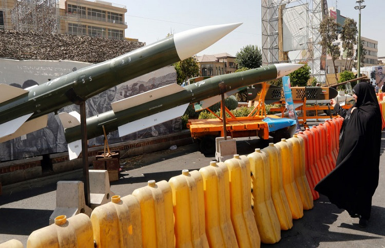 Iranian missile threat the Middle East