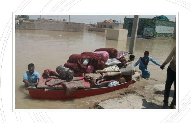 Flood crisis in Sistan and Baluchestan province