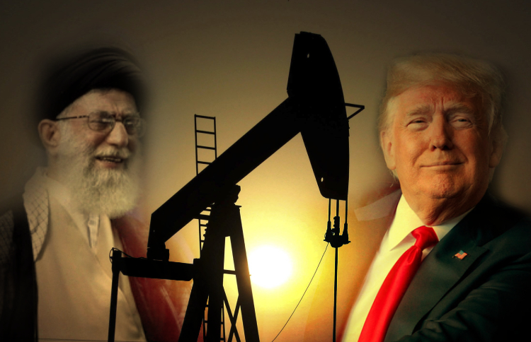 How much the increase of tensions between the U.S. and Iran affects geopolitical oil value?