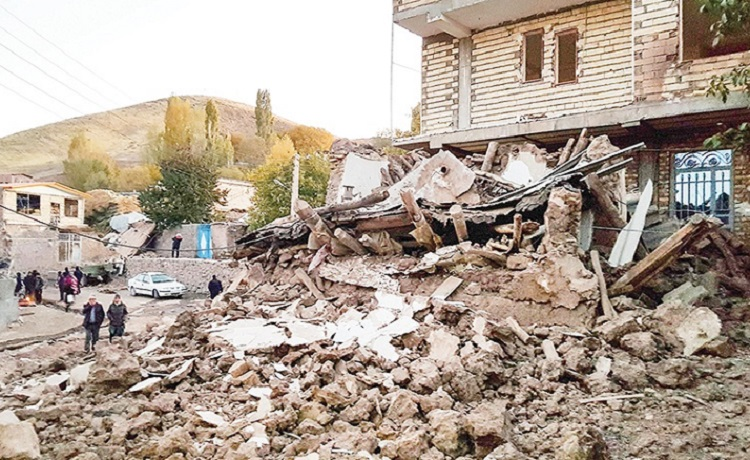 Despite passing two months from 5.9 magnitude earthquake in East Azarbaijan, northwestern Iran, the victims are suffering from officials' imprudence