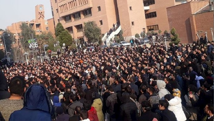 Thirty people, including several university students, have been arrested during the vigils and protests in Iran over the shooting down of a Ukrainian plane last week