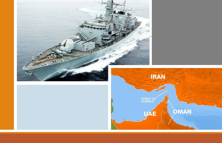 Naval protection for the Strait of Hormuz by the EU