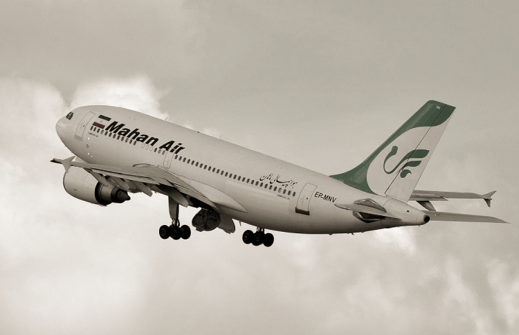 Iran's IRGC-owned Mahan Air continues its flights to China, which put the people's lives at severe risk