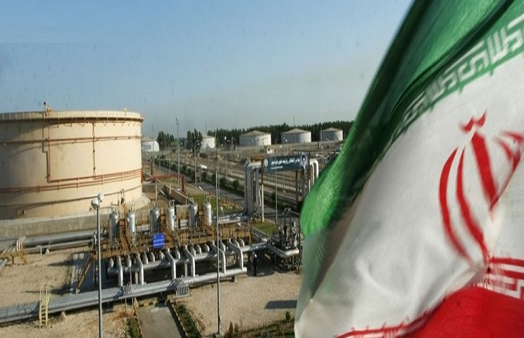 Iran oil production down