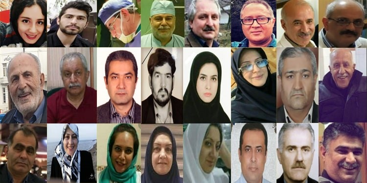 Iranian doctors, nurses, and physicians are victims of officials' incompetence
