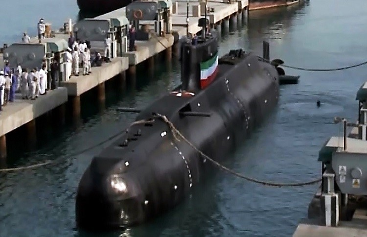 Iran's Fatehsubmarine. The Navy of Iran is believed to be operating two of the compact Fateh-class boats to date. Its design is believed to have been heavily influenced by both Chinese and North Korean submarine types.