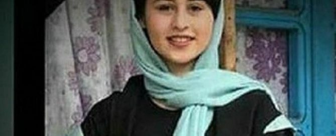 A 13-year-old Iranian girl fell victim to the misogynistic atmosphere that has created in Iran by the ayatollahs