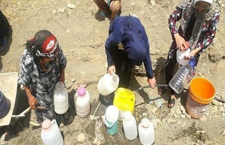 Iran water shortage