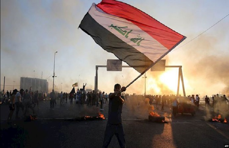 Iraq protests 2020