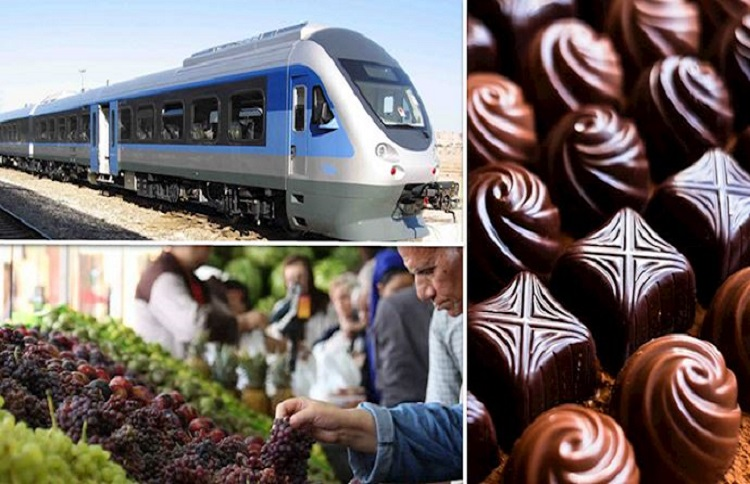 The Iranian government increases the price of fruit, sweets, chocolate, and train tickets