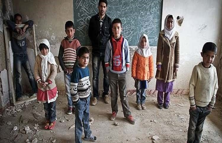 The situation of a school and its students in Iran