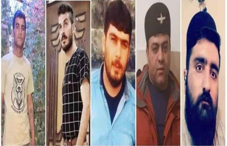 Five Iranian youth sentenced to death for protesting the regime