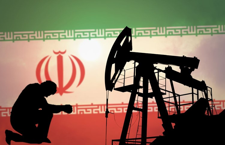 Iran's oil in the hand of a corrupt government