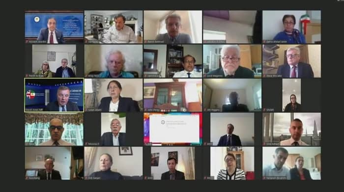 Online conference panel about the 1988 Massacre in Iran