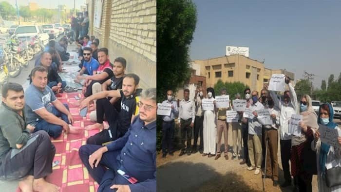 Haft Tappeh workers and retirees of Ahvaz